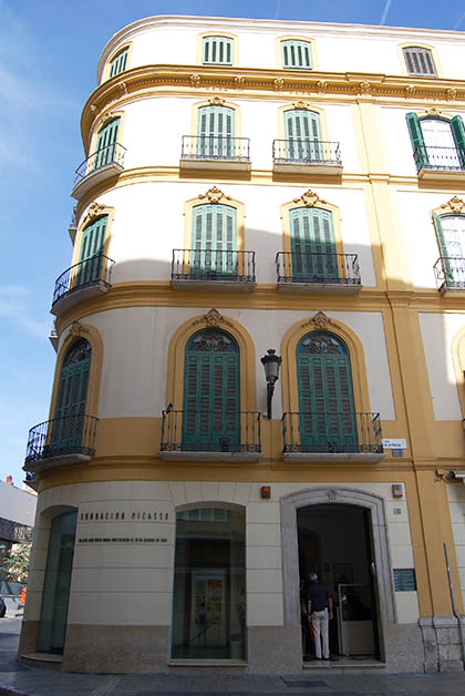Casa Natal de Picasso en Málaga. Foto © Silvia Lucero