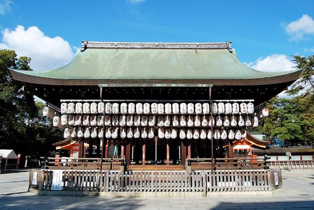Santuario Yasaka-jinja. Foto © Silvia Lucero