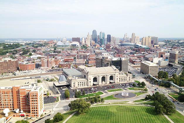 Vistas de Kansas City. Foto © Patrick Mreyen