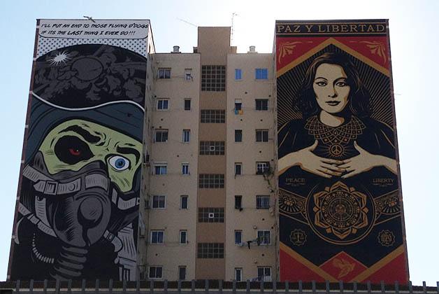 Arte urbano en Soho Málaga. Foto © Patrick Mreyen