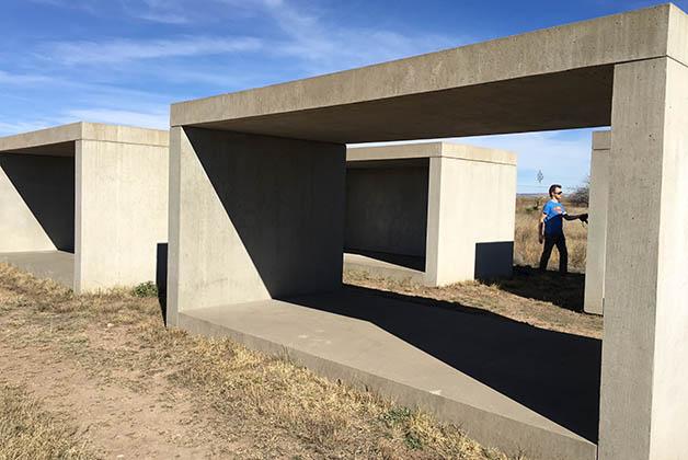 Bloques de Concreto de Judd. Foto © Silvia Lucero