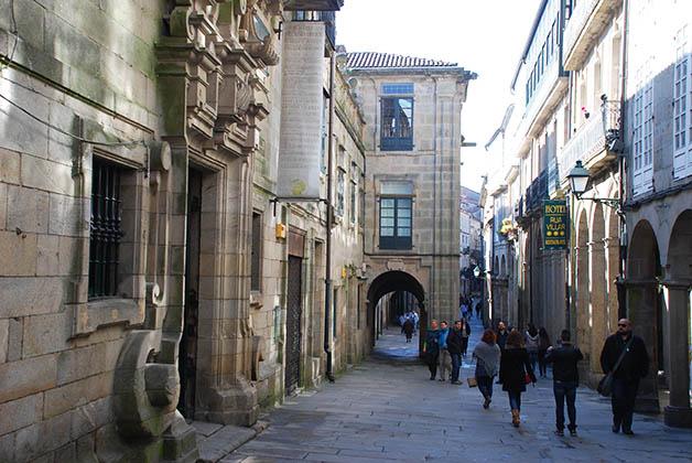 Santiago de Compostela además es una ciudad muy divertida para salir con amigas. Foto © Silvia Lucero