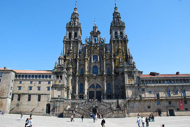 Catedral de Santiago de Compostela. Foto © Silvia Lucero