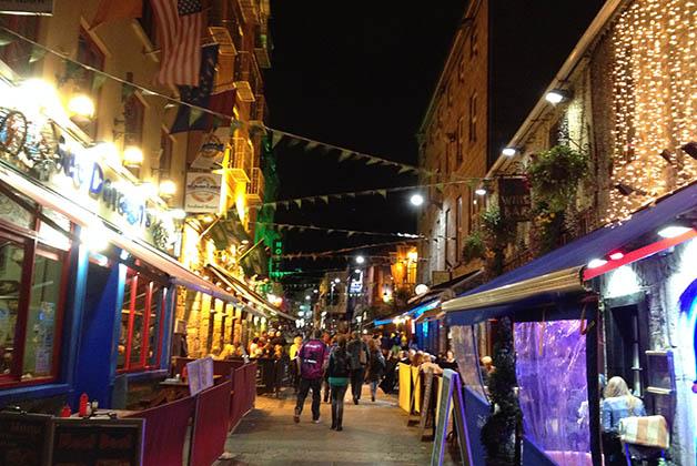 Latin Quarter en Galway, el alma de la ciudad. Foto © Patrick Mreyen