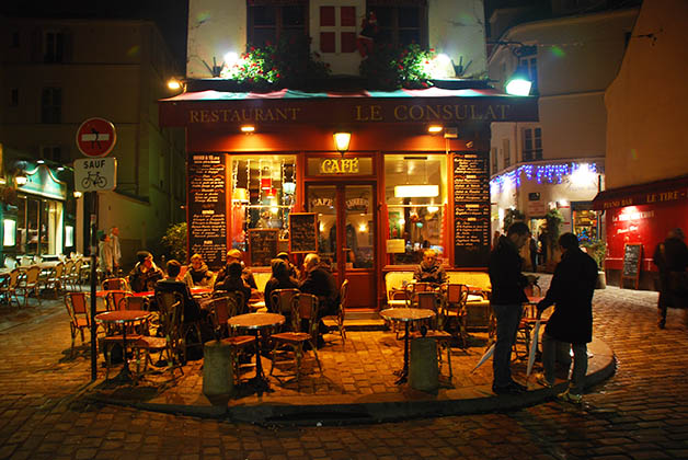 El bohemio barrio de Montmartre. Foto © Silvia Lucero