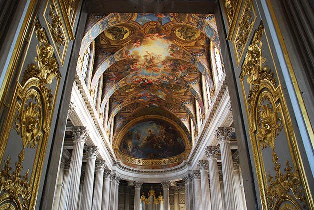 EL Palacio de Versalles, para imaginarse cómo vivía la realeza. Foto © Silvia Lucero