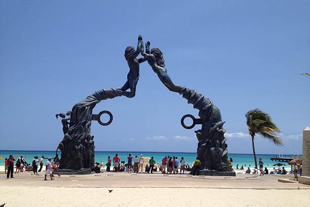 Playa del Carmen es un lugar pequeño, con playas preciosas y lugares bastante chic. Foto © Silvia Lucero