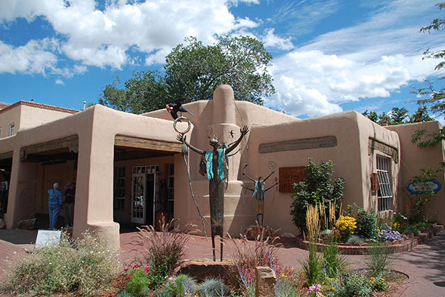Santa Fe es una de las ciudades más bonitas de Estados Unidos. Foto © Silvia Lucero