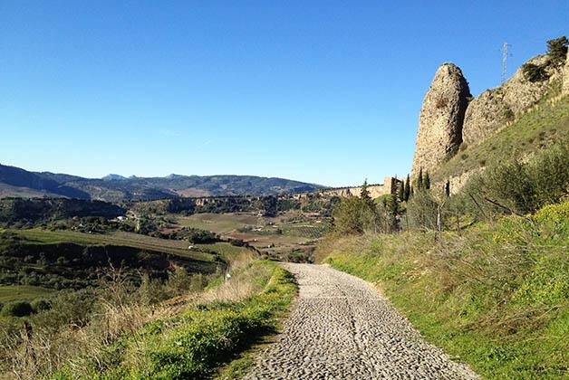 Ronda, Andalucía, tiene producción excelente de alimentos y vinos. Foto © Patrick Mreyen