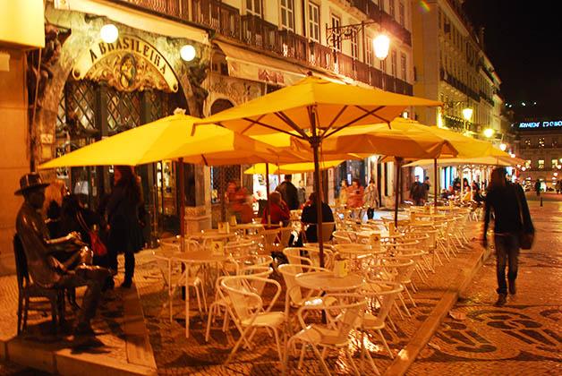 Café A Brasileria en Chiado. Foto © Patrick Mreyen