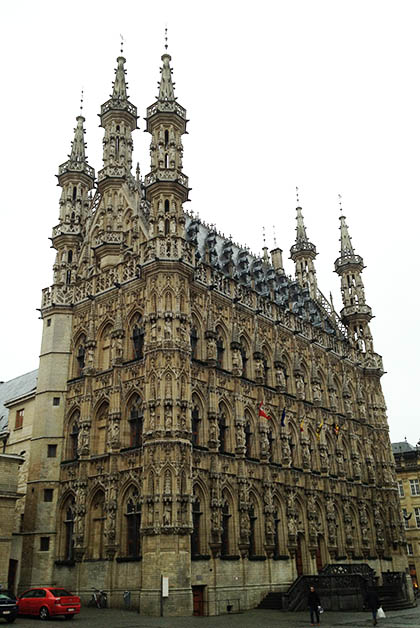 Ayuntamiento de Leuven. Foto © Patrick Mreyen