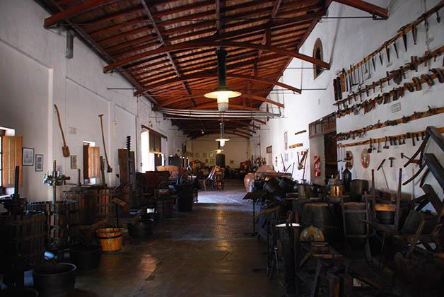 Museo del Vino. Foto © Silvia Lucero