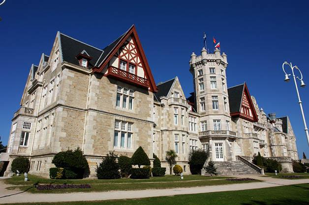 Palacio de la Magdalena. Foto © de la página oficial de Turismo de Cantabria