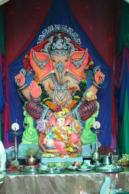 Ganesha en Mumbai. Foto tomada de Pixabay