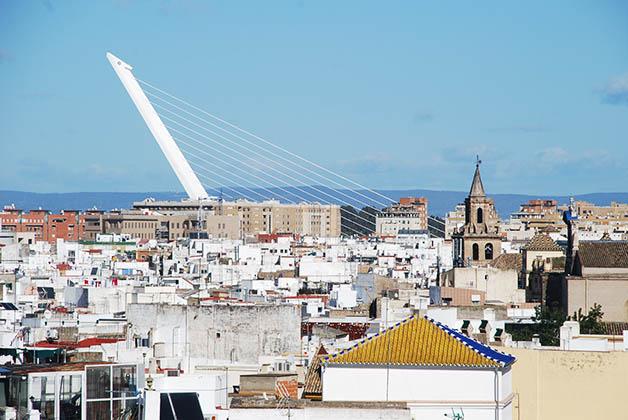Puente de Alamillo en Sevilla. Foto © Patrick Mreyen