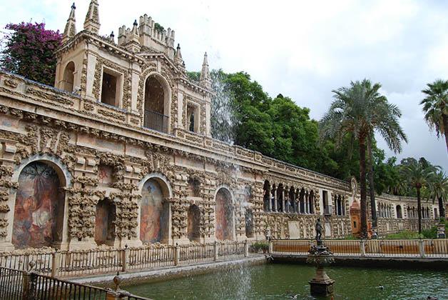 Jardines del Alcázar. Foto © Silvia Lucero