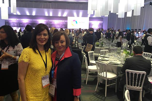 Con Patricia Herrera, Directora del Consejo de Promoción Turística de México en Houston. Foto © Silvia Lucero
