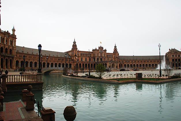 La impresionante Plaza de España. Foto © Patrick Mreyen