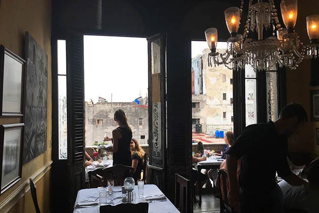 Paladar La Guarida, de los más famosos de La Habana. Foto © Silvia Lucero