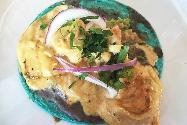Taco del FREJCo. Foto © Silvia Lucero