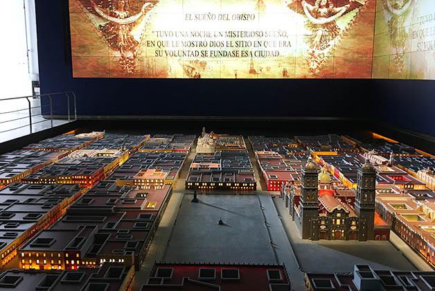 Tienen una maqueta impresionante de Puebla. Foto © Patrick Mreyen