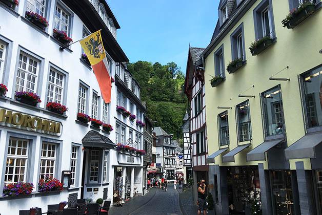 Me encantaron las callecitas de Monschau. Foto © Silvia Lucero