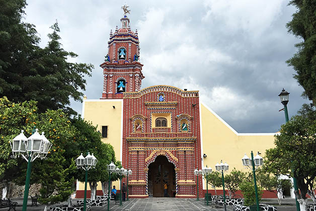 Templo de Tonantzintla. Foto © Silvia Lucero