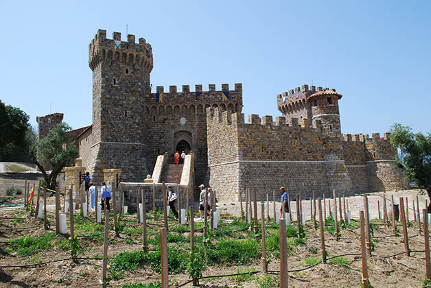 Castello di Amorosa, muy bonito, pero demasiado turístico. Foto © Patrick Mreyen