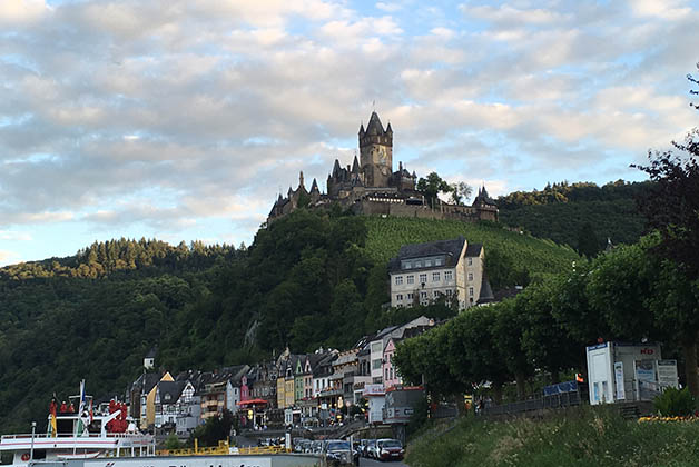 Castillo de Reichsburg. Foto © Silvia Lucero