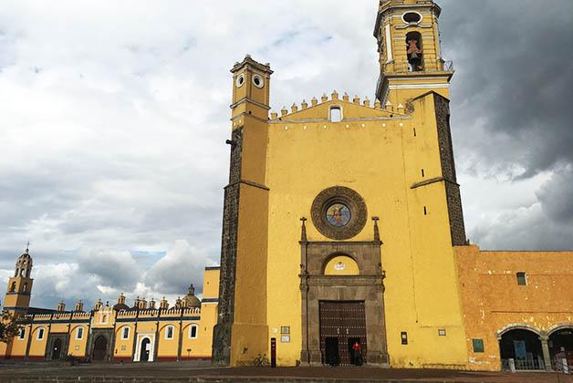 El famoso Convento Franciscano de San Gabriel Arcángel. Foto © Patrick Mreyen