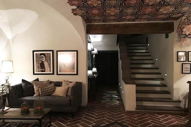 El hotel es pequeño pero precioso. Foto © Silvia Lucero