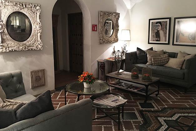 Me enamoré de toda la decoración. Foto © Silvia Lucero