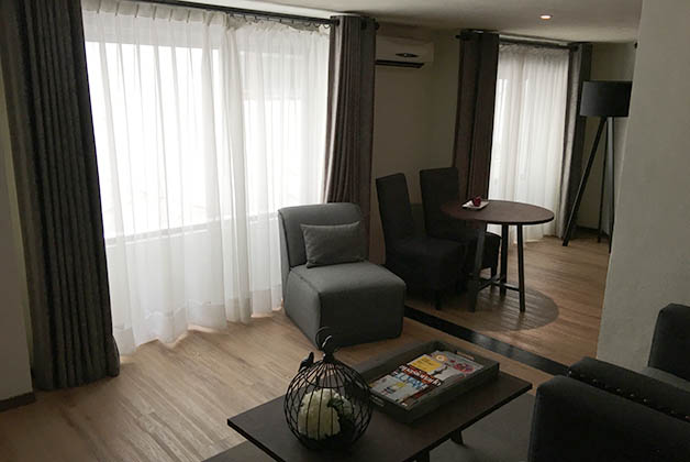 Nuestra suite en el Busué. Foto © Patrick Mreyen