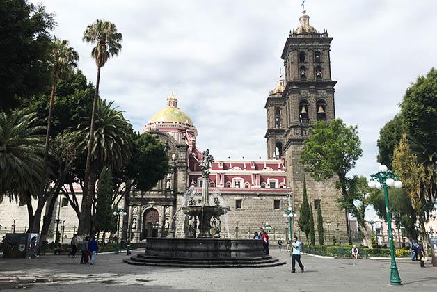 Zócalo de Puebla. Foto © Patrick Mreyen
