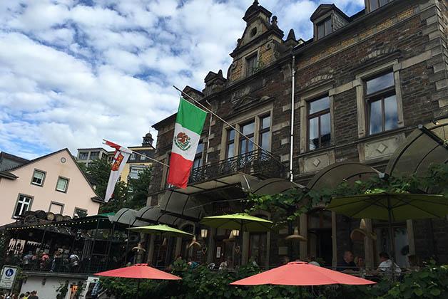 Al final del día cenamos en un restaurante mexicano. Foto © Silvia Lucero