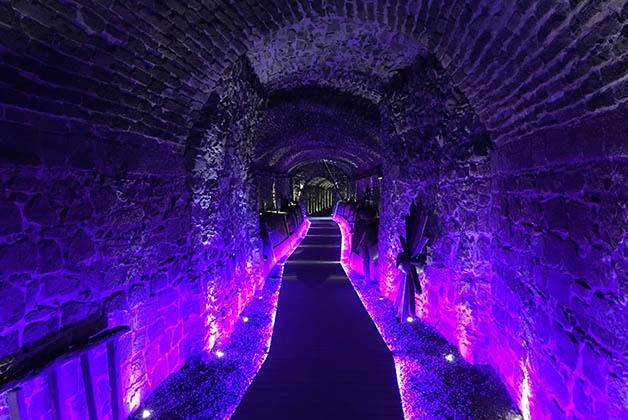 El primer túnel en exhibición. Foto © Silvia Lucero
