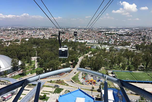 Teleférico de Puebla. Foto © Silvia Lucero