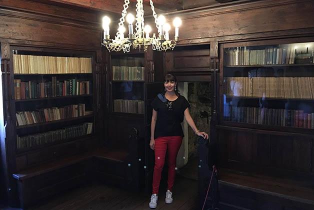 En el interior del Castillo de Bran. Foto © Silvia Lucero