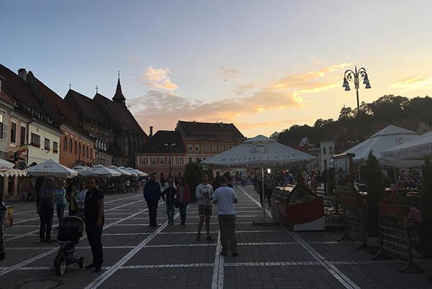 Centro histórico de Brasov. Foto © Silvia Lucero