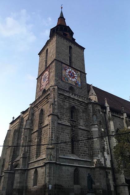 Iglesia Negra en Brasov. Foto © Silvia Lucero