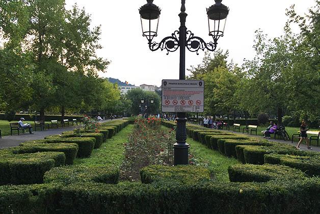 Parque en Brasov. Foto © Silvia Lucero