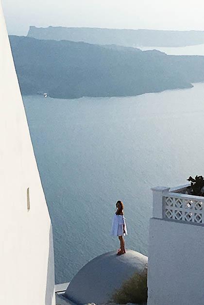 Turista tomándose fotos. Foto © Patrick Mreyen
