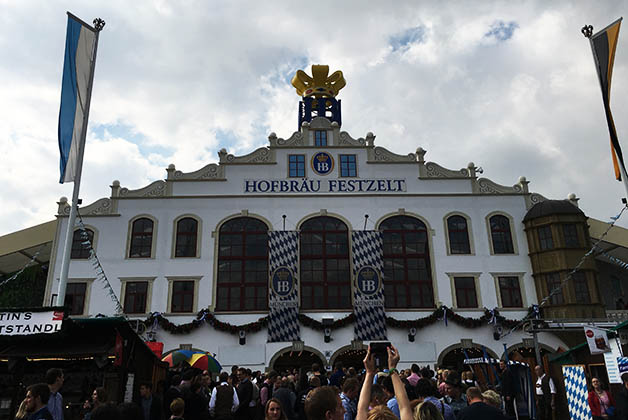 Hofbrau. Foto © Silvia Lucero