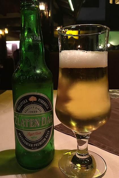 La cerveza no podía fallar. Foto © Silvia Lucero
