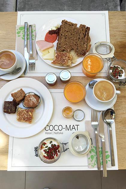 El desayuno exquisito. Foto © Patrick Mreyen