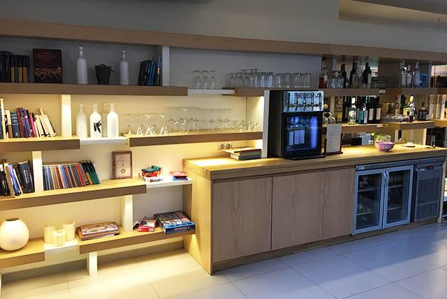 """En el """"honesty bar"""" encontrabas todo tipo de vinos, cervezas y licores. Foto © Silvia Lucero"""