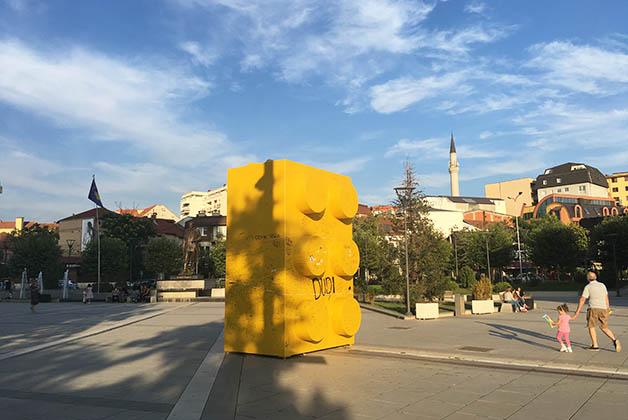 Pristina, Kosovo. Foto © Silvia Lucero