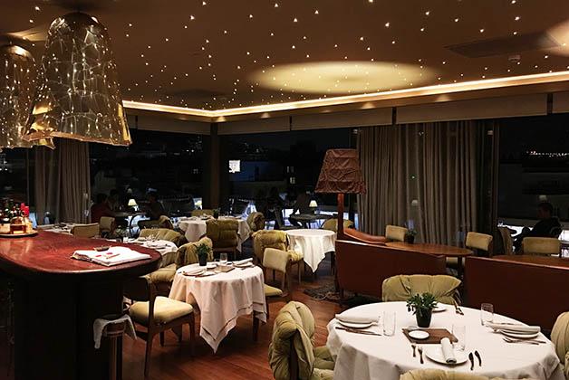 El restaurant-bar también tenía una decoración preciosa. Foto © Silvia Lucero