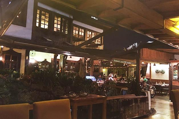 El restaurante histórico. Foto © Silvia Lucero