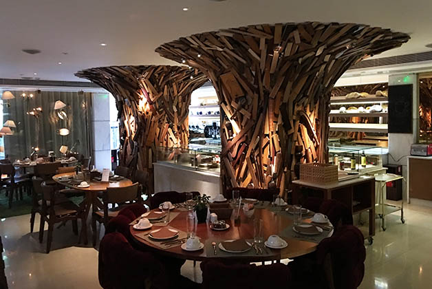 El restaurante New Taste. Foto © Silvia Lucero
